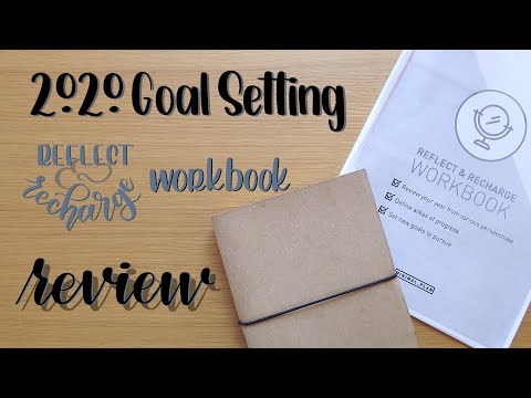 Goal Setting | Review | Reflect & Recharge Workbook