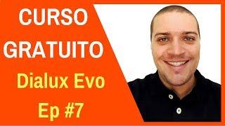 🔴CURSO GRATUITO Dialux Evo - Objetos, materiais e acabamentos Ep #7