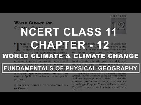 World Climate & Climate Change - Chapter 12 Geography NCERT Class 11