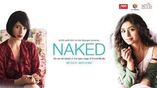 NAKED |  HD | Ft Kalki Koechlin and Ritabhari |Nominated for Jio Filmfare 2018 | Short film thumbnail