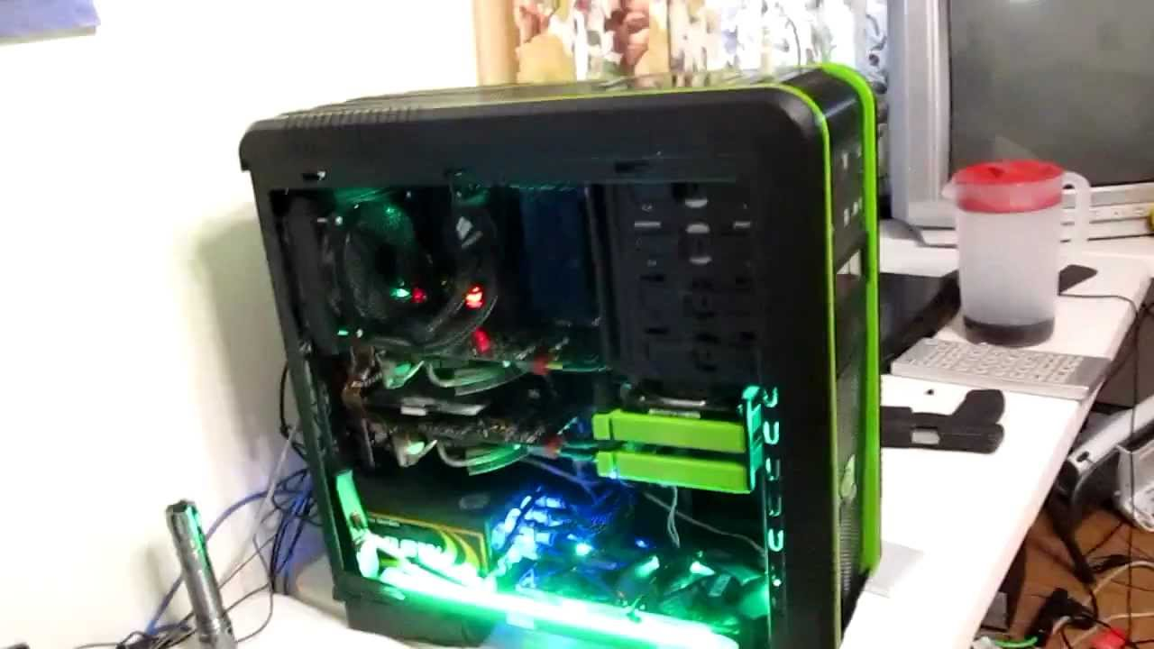 my intel core i7 extreme gaming pc 2011 youtube. Black Bedroom Furniture Sets. Home Design Ideas