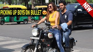 Picking Up Boys On Bullet ||Rits Dhawan
