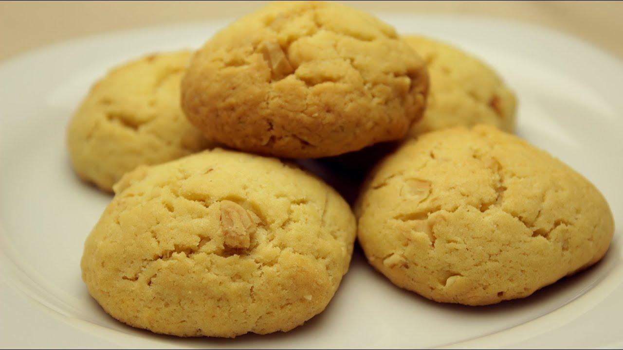 einfache nuss kekse nuss cookies rezept youtube. Black Bedroom Furniture Sets. Home Design Ideas