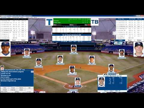 Action PC Baseball 4 3 2016 Toronto at Tampa Bay Stroman vs Archer
