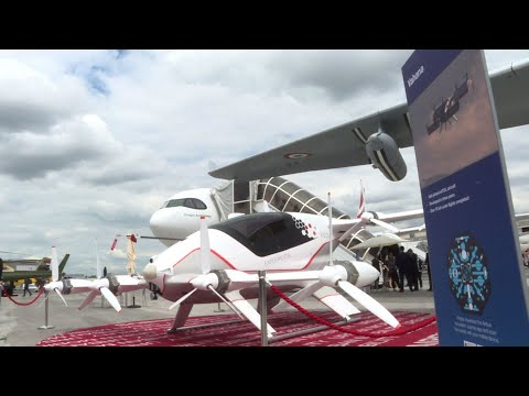 LeeAnn and Wazz - Paris Targeting Flying Taxis By 2024