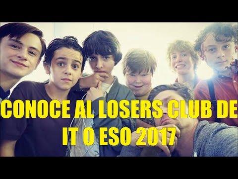 Conoce al Losers Club de IT o ESO 2017 + Imagenes Detras de Camaras