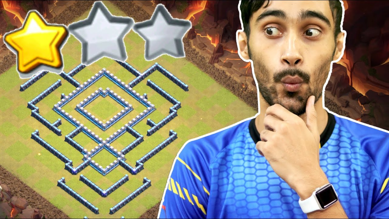 Impossible To 3 Star , With Link(blue print) . Clash of Clans.............