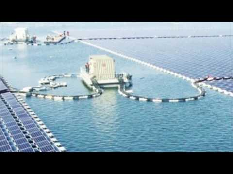 40 MW Floating Solar Power Plant in China becomes World's Largest Floating PV Plant | QPT