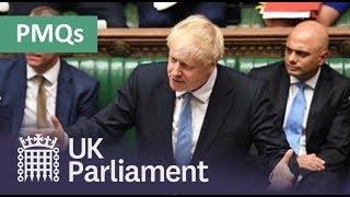 LIVE Prime Minister's Questions: 8 January 2020
