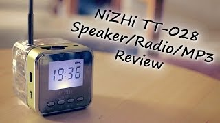NiZHi TT-028 Speaker/Radio/MP3 Player Review