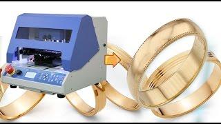 Как сделать обручальное кольцо с накаткой алмазной гранью на станке Magic 70