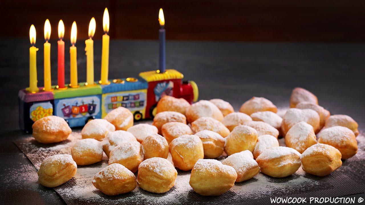 рецепт пончиков на ханук