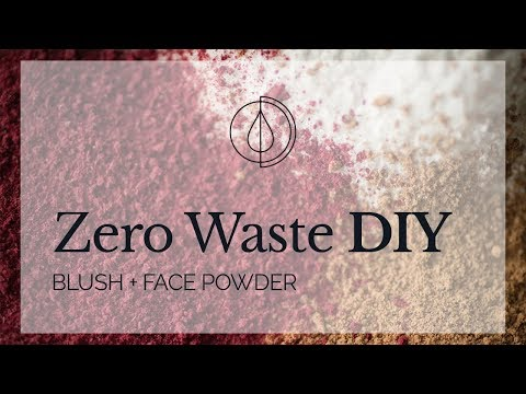 Zero Waste DIY: Blush + Face Powder