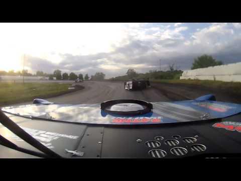 Brian Schultz Heat Race at Fiesta City Speedway 6/13/14