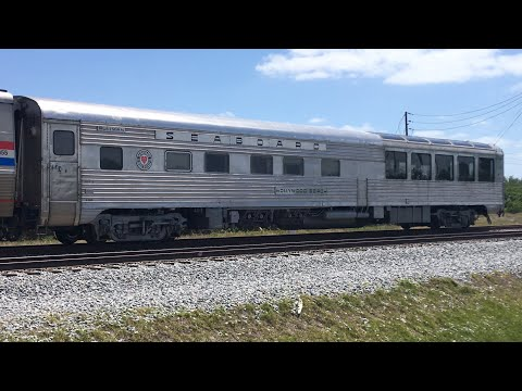 Seaboard Air Line Hollywood Beach On The Silver Meteor