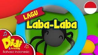 Lagu Anak-Anak Indonesia | Didi & Friends | Laba-Laba