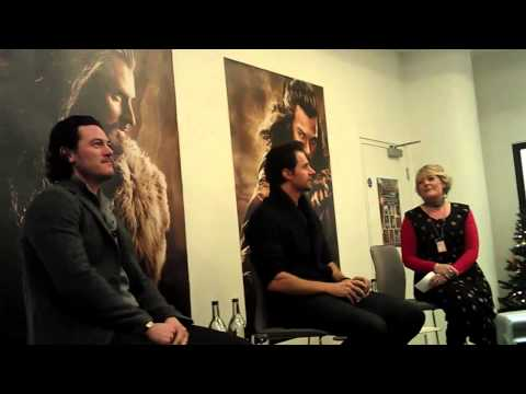 Richard Armitage and Luke Evans at Waterstones Piccadilly (Part 2) - 06/12/2013