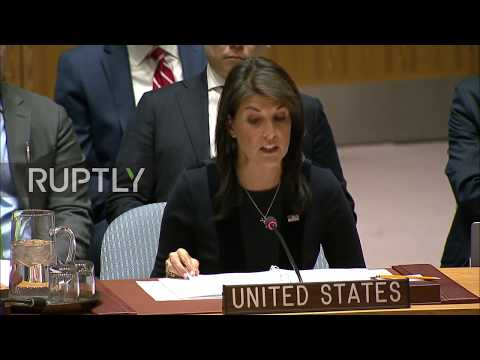 UN: USA's Haley accuses Russia of Salisbury 'nerve agent' attack