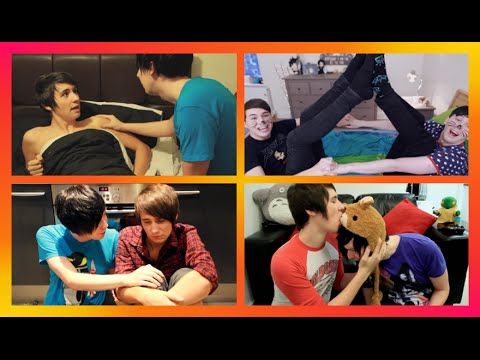PHAN | All The Best Moments (UPDATED) - [danisnotonfire & AmazingPhil]