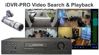 CCTV Security DVR Recorded Surveillance Video Search & Playback