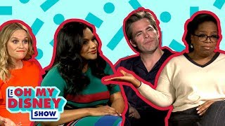 The Cast and Director of A Wrinkle in Time Play Our Speed Round Game | Oh My Disney Show