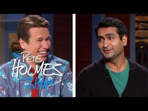 Kumail Nanjiani Roasts Pete In Front Of His Dad