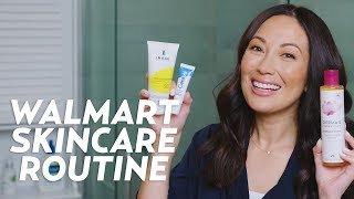 My Morning Skincare Routine with Walmart Products | #SKINCARE