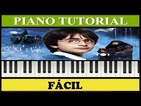 Harry Potter Theme / Piano Tutorial / Notas Fáciles (Synthesia)