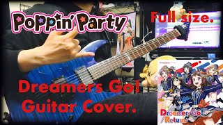 【bang dream】poppin39party dreamers go full size 弾いてみた