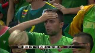 Pasaulio vyrų krepšinio čempionatas. JAV - Lietuva