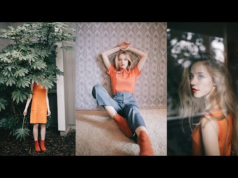 How to Edit with VSCO Film Pack 06 | 1960s-70s Style Photoshoot