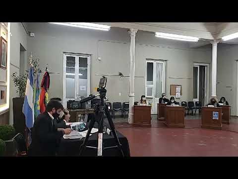 Sesión Concejo deliberante de Chacabuco 27 05 2020
