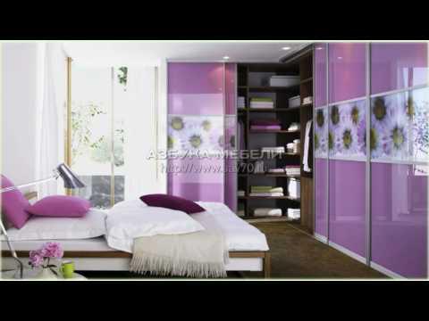 Дизайн встроенных шкафов фото