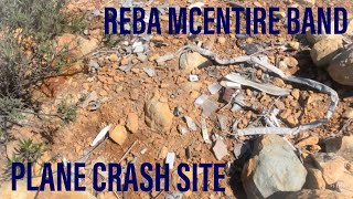 Reba McEntire Band Plane Crash Site Visit - 28 Years Later