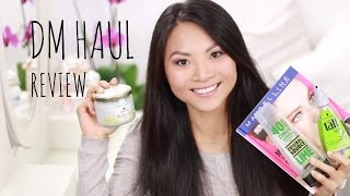 DM HAUL REVIEW - Balea, Loreal etc. Thumbnail