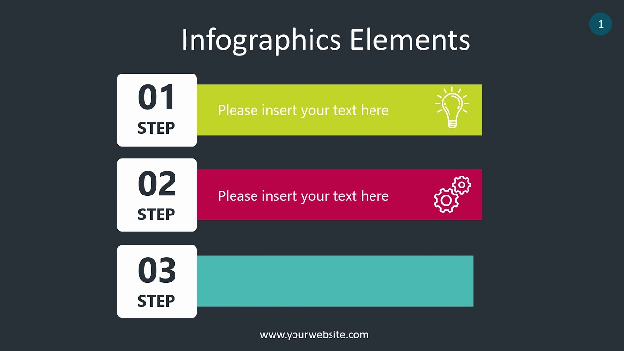 Steps Infographics Elements - Animated PowerPoint Template ...