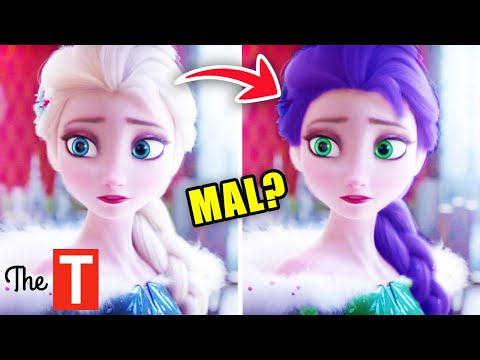 What These Disney Characters Were Actually Supposed To Look Like