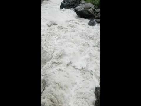 Beas River at it's best in kasol. Himachal Pradesh.