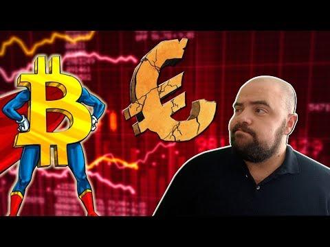Importante ¿El Bitcoin Podrá Ayudarnos Cuando La Economía Europea Peligre? 👨🏼🚒