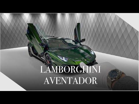 Lamborghini Aventador LIMITED EDITION - Detailed Walkaround + INSANE SOUND   Luxury Cars Hamburg