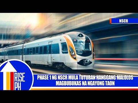 North South Commuter Railway Phase 1 (Tutuban - Malolos) is set to Partially Open this Year