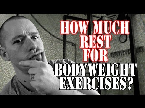 Bodyweight Exercises And REST Days, What Combo Is BEST?