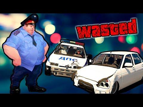 Видео: Полицейский попал в аварию, убегая от депутата Яшина