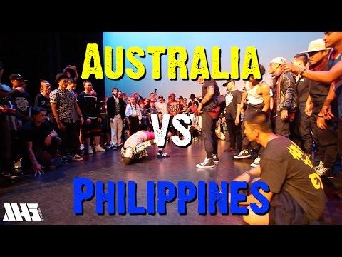 AUSTRALIA VS PHILIPPINES (Part 1)   WORLD SUPREMACY BATTLEGROUNDS 2015