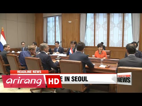 EARLY EDITION 18:00 Korea, Netherlands upgrades bilateral relations to comprehensive partnership