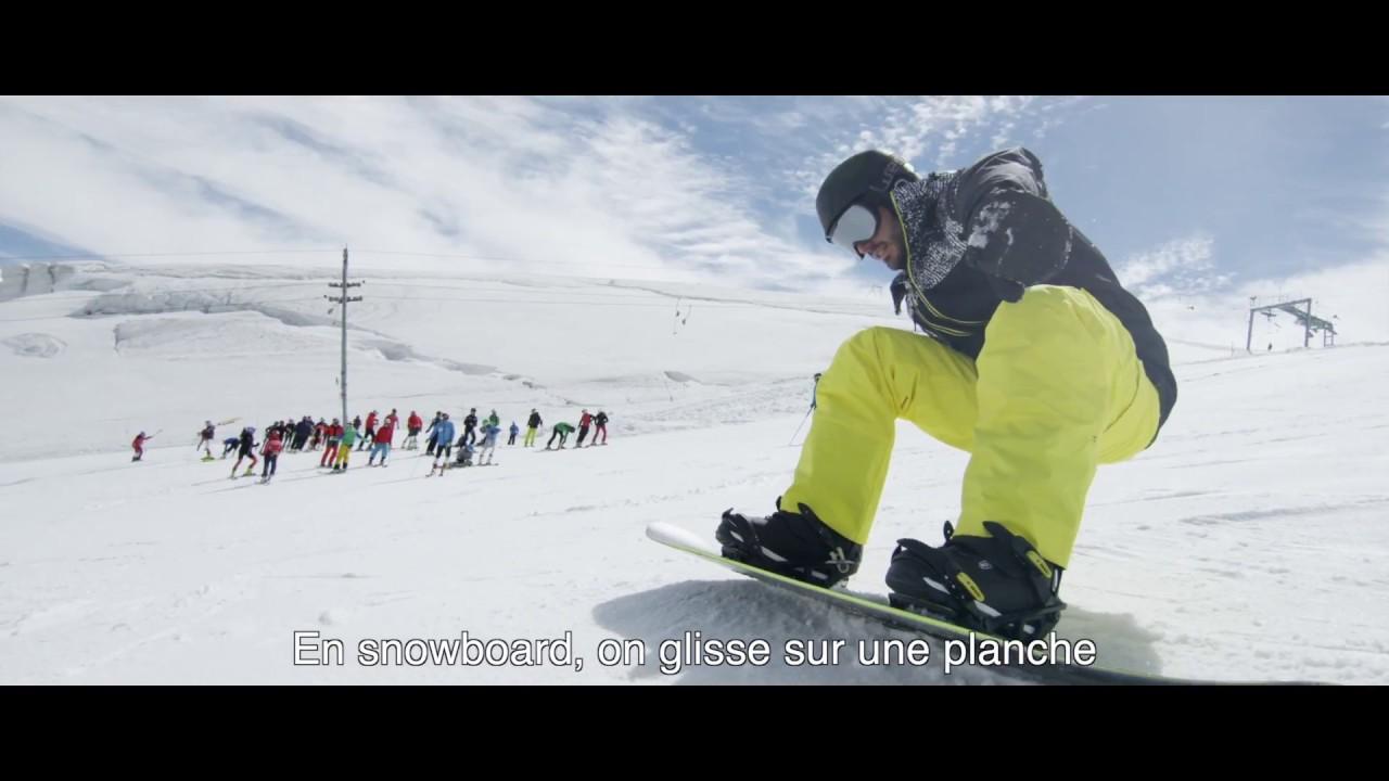 rencontre un snowboarder Pro