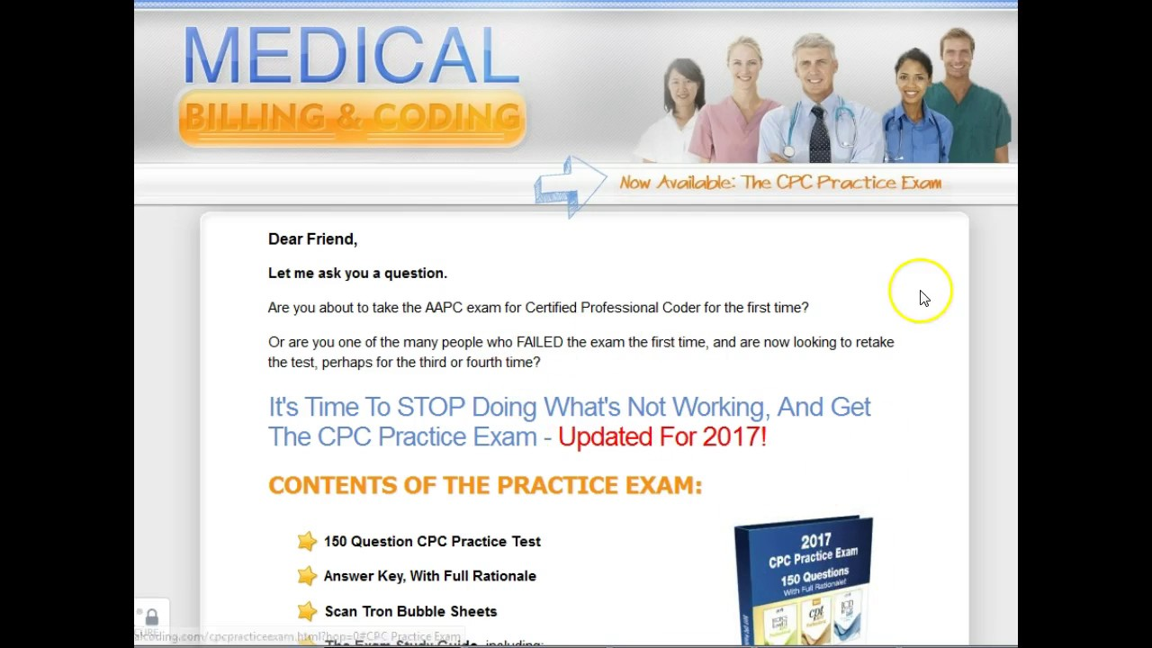Cpc Practice Exam Guide Reviews Cpc Practice Exam Discount
