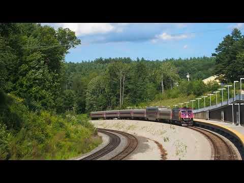 Wachusett MBTA Commuter Rail Terminal - Fitchburg, MA USA