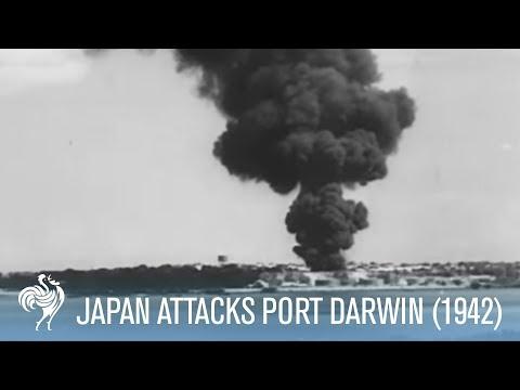 Japanese Bombers Attack Port Darwin Australia (1942) | War Archives