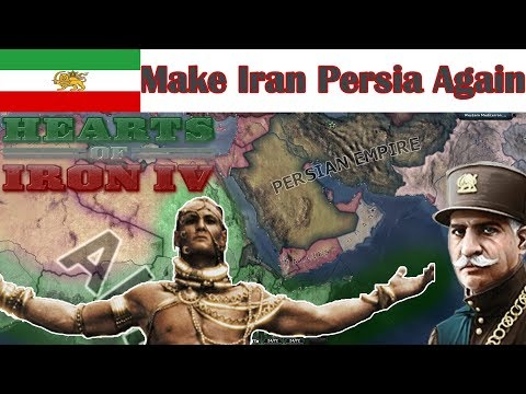 HOI4- MAKE IRAN PERSIA AGAIN!! (in less than 11 minutes)